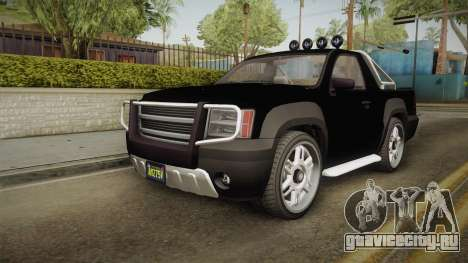 GTA 5 Declasse Granger Pick-Up IVF для GTA San Andreas