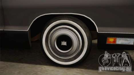 Mercury Marquis 2dr 1971 для GTA San Andreas вид сзади