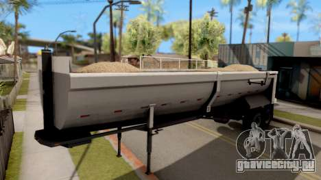 Dump Trailer from American Truck Simulator для GTA San Andreas