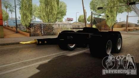 Double Trailer Livestock v2 для GTA San Andreas вид справа