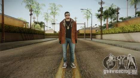 Skin Anuel AA v2 для GTA San Andreas