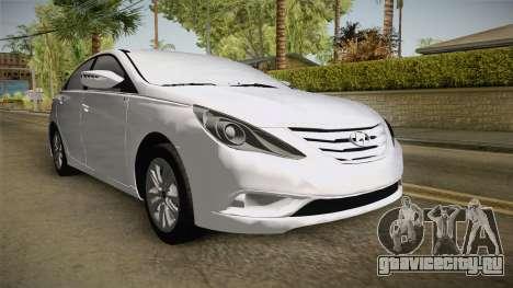 Hyundai Sonata 2013 для GTA San Andreas вид справа