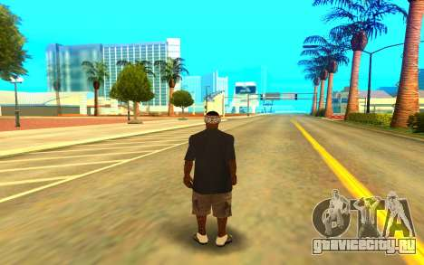 BALLAS GANG для GTA San Andreas третий скриншот