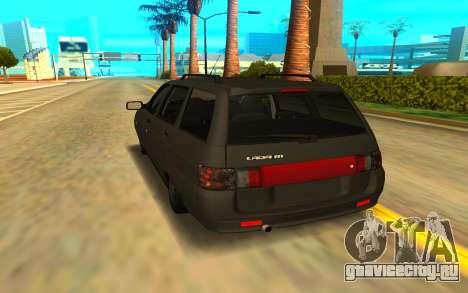 ВАЗ 21111 для GTA San Andreas вид сзади