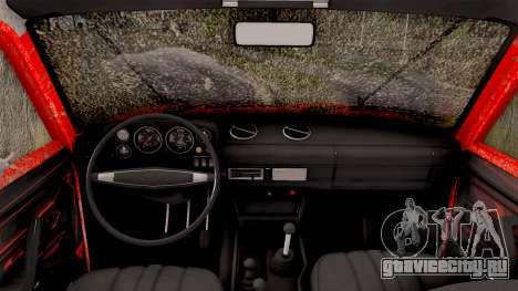 ВАЗ 2121 Нива Offroad для GTA San Andreas вид изнутри