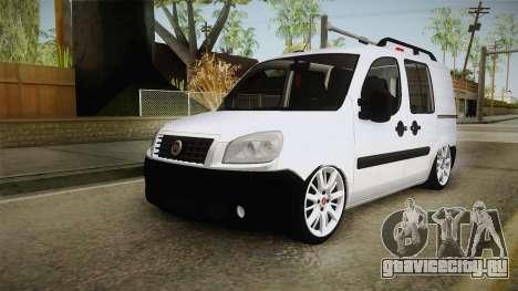 Fiat Doblo 2008 для GTA San Andreas вид сзади слева