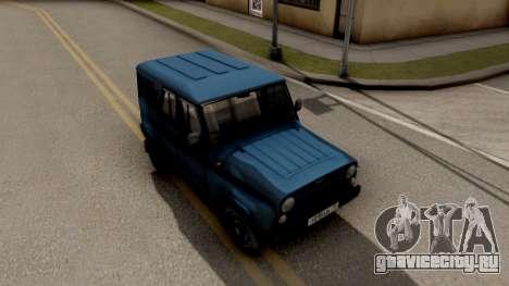 УАЗ Hunter V8 Антигелик AcademeG для GTA San Andreas вид справа