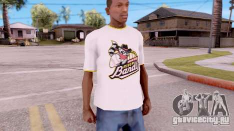 T-Shirt River Bandits для GTA San Andreas