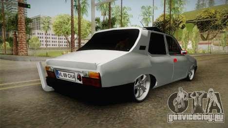 Dacia 1310 Berila Low для GTA San Andreas вид сзади слева