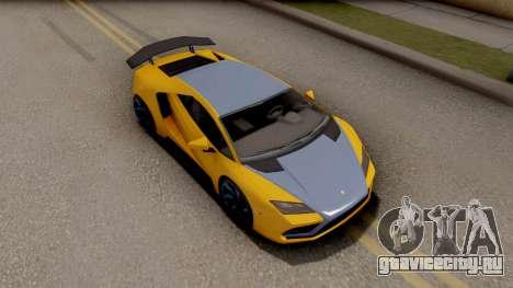 GTA 5 Pegassi Tempesta IVF для GTA San Andreas