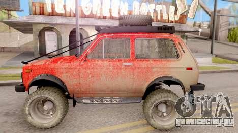 ВАЗ 2121 Нива Offroad для GTA San Andreas вид слева
