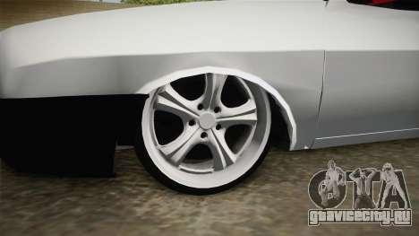 Dacia 1310 Berila Low для GTA San Andreas вид сзади