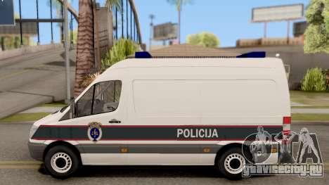 Mercedes-Benz Sprinter BIH Police Van для GTA San Andreas