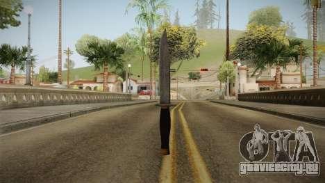 Resident Evil 7 - Survival Knife для GTA San Andreas третий скриншот