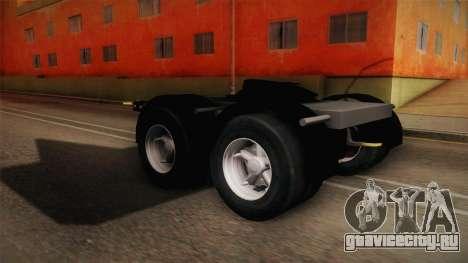 Double Trailer Livestock v2 для GTA San Andreas вид сзади слева