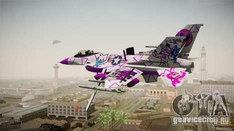FNAF Air Force Hydra Funtime Freddy для GTA San Andreas вид слева