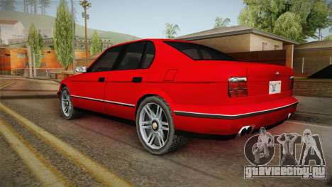 Midnight Club 2 - Schneller V8 для GTA San Andreas вид слева