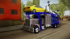 Peterbilt 379 Packer Tractor для GTA San Andreas