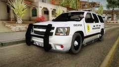 Chevrolet Tahoe 2013 Iowa State MVE для GTA San Andreas