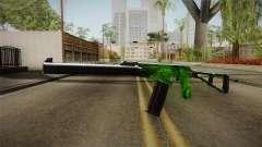 Green AK-47 для GTA San Andreas