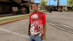 Ecko Unltd T-Shirt Red для GTA San Andreas
