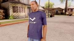 Steam T-Shirt для GTA San Andreas