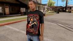 Black T-Shirt AC/DC