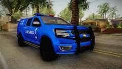 Chevrolet S10 Turkish Gendarmerie CSI Unit
