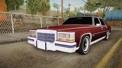 Cadillac Fleetwood Brougham Low Rider 1980 для GTA San Andreas