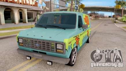 Ford Econoline 150 Scooby-Doo Mystery Machine для GTA San Andreas