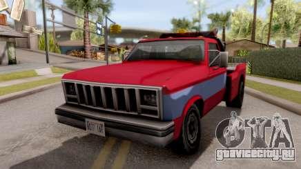 Paintable Towtruck v1 для GTA San Andreas