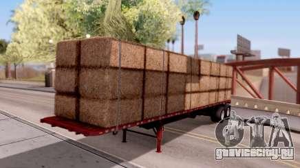 FlatBed Trailer From American Truck Simulator для GTA San Andreas