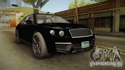 GTA 5 Enus Huntley Coupè IVF для GTA San Andreas