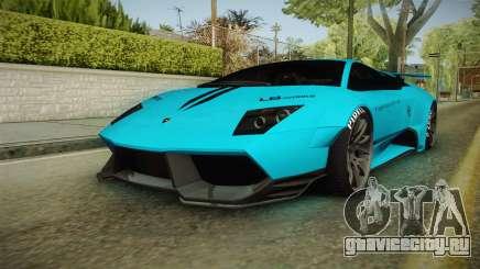 Lamborghini Murcielago LP670-4 SV Liberty Walk для GTA San Andreas