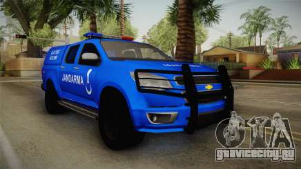 Chevrolet S10 Turkish Gendarmerie CSI Unit для GTA San Andreas