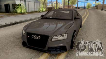 Audi RS5 серебристый для GTA San Andreas