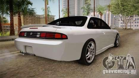 Nissan 200SX 1994 для GTA San Andreas вид сзади слева