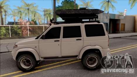 УАЗ Patriot Off-Road для GTA San Andreas вид слева