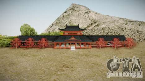Way of Samurai 4 Wind Palace для GTA San Andreas второй скриншот