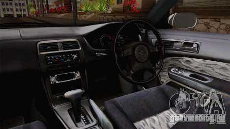 Nissan 200SX 1994 для GTA San Andreas вид изнутри