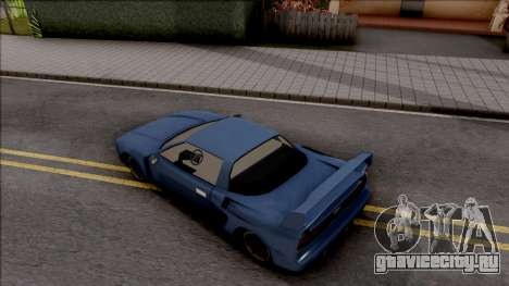 BlueRay's Infernus-C для GTA San Andreas вид сзади
