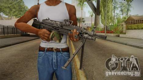 M249 Light Machine Gun для GTA San Andreas третий скриншот