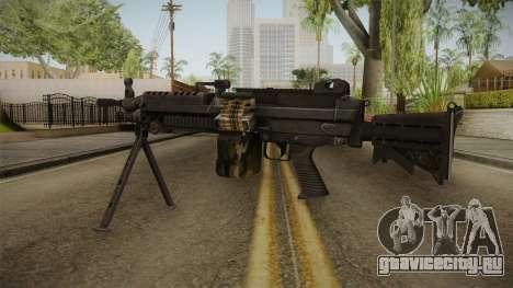 M249 Light Machine Gun для GTA San Andreas второй скриншот