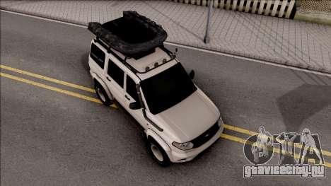 УАЗ Patriot Off-Road для GTA San Andreas вид справа