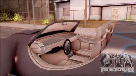 Alien Fortune для GTA San Andreas вид изнутри
