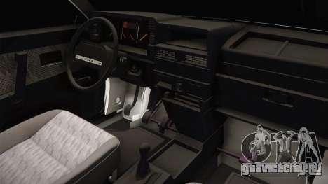 ВАЗ 21099 Сток для GTA San Andreas вид изнутри