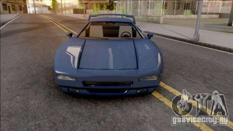 BlueRay's Infernus-C для GTA San Andreas вид изнутри