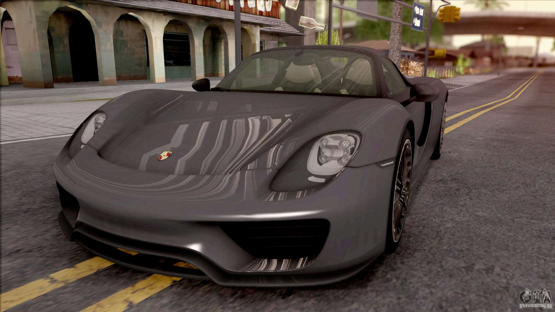 porsche 918 spyder 2013 gta san andreas. Black Bedroom Furniture Sets. Home Design Ideas