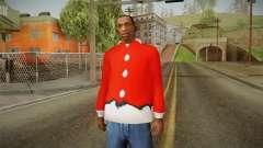 Красная куртка Санта Клауса
