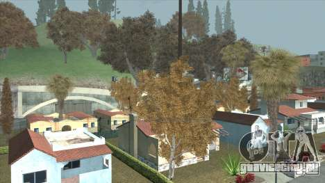 Behind Space Of Realities Lost And Damned Autumn для GTA San Andreas